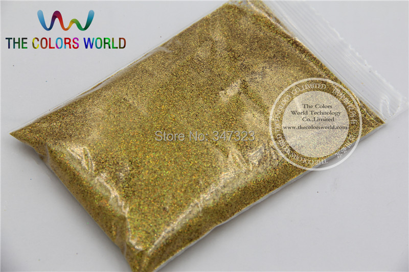 0.2mm Laser Gold Dazzling Hexagon Glitter Dust for DIY Nail ,body Art and etc decoration(China (Mainland))