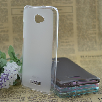 Transparent TPU Case for HTC Droid DNA X920e D Soft Cover with Screen Protector Free Shipping