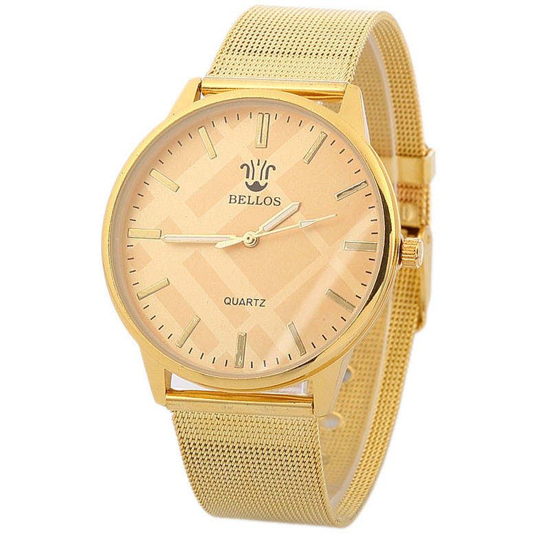 Yoner Watch font b Women b font Watches Luxury Brand Fashion Gold Classic Quartz Stainless Steel