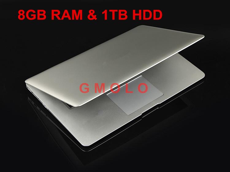 14 Inch Laptop Computer Notebook with Intel Celeron J1900 Quad Core 8GB RAM &1TB HDD Windows7/8 WIFI HDMI Webcam(China (Mainland))