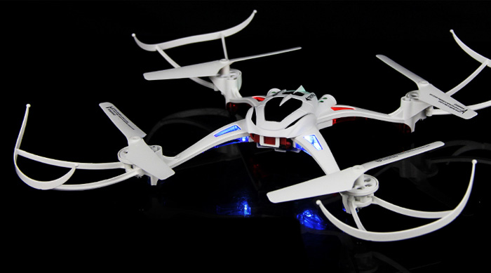 EBOYU(TM) U807 Magnetic Compass Headless Mode 2.4GHz RC Quadcopter 6 Axis Gyro 360 Degree Stumbling RTF UFO
