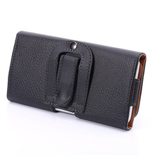 Buy Horizontal Belt Clip Holster Leather Pouch Case Cover Xiaomi Redmi Note 2 5.5 inch Universal Cell Phone Accessories S2A05D for $5.92 in AliExpress store