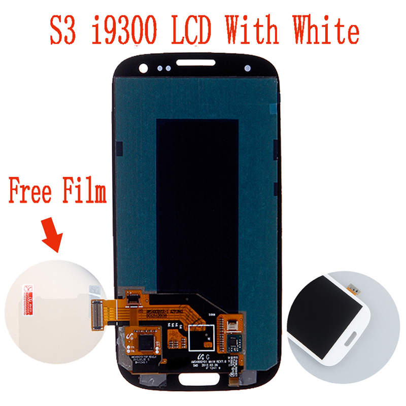 For Samsung Galaxy S3 LCD Digitizer i747m i9300 Cell Phone Repair LCD Touch Screen Assembly white(China (Mainland))