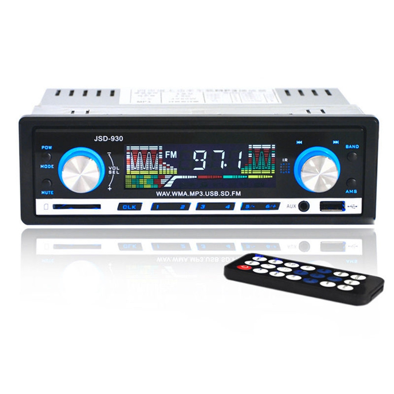 New Arrival Car Stereo Audio Player FM Aux Input Receiver In-Dash Music MP3 Radio Player SD USB In Dashfor Cell Phone LZH T0527(China (Mainland))