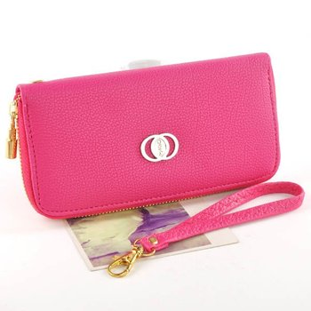 Free Shipping Fashion Women Wallet PU Leather  Purse Coin Purses Cellphone  Bag 7 Colors Mixed Wholesale