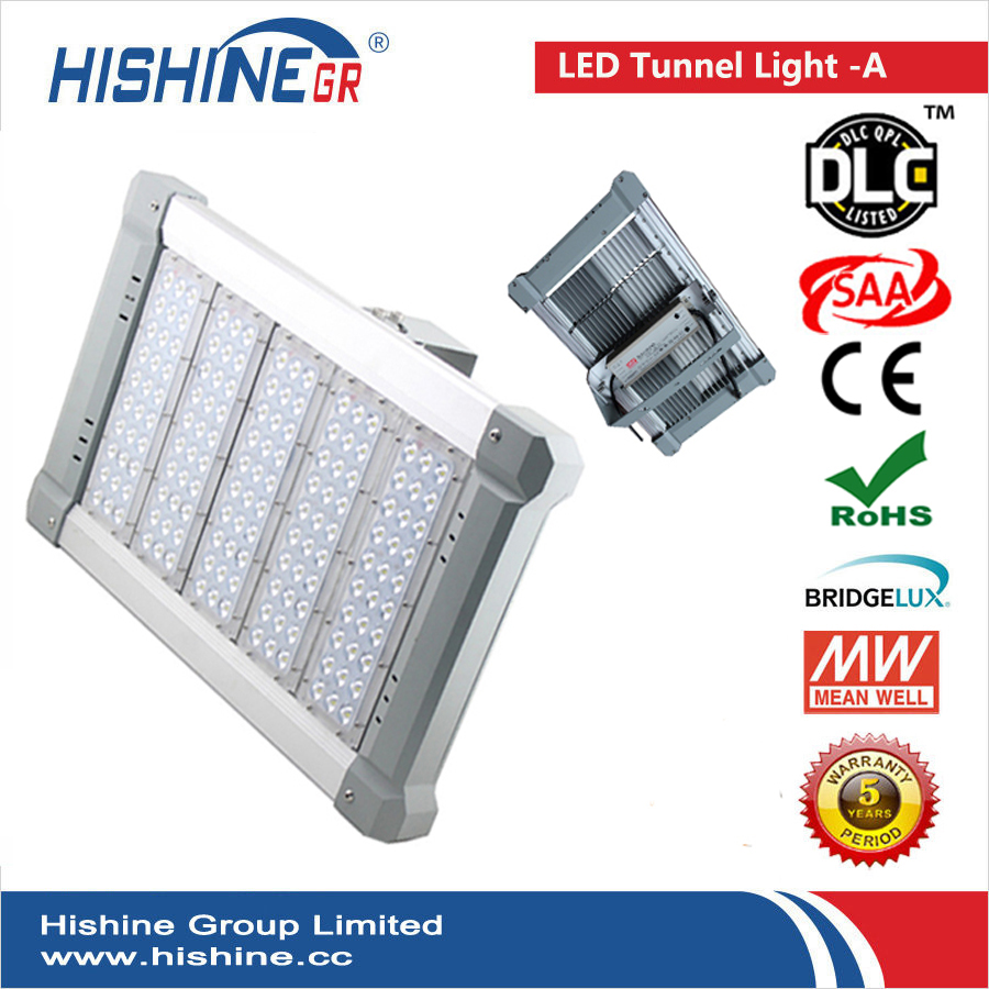 (7pcs/lot) Top Sell High Power IP66 Led Tunnel Light, 240W Led Sport Field Lighting, DLC CE ROHS Approved Led Warehouse lamp(China (Mainland))