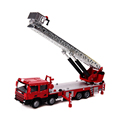 KDW Ladder Fire Truck 1 50 Scale Diecast Car Model Toys Fire Truck Construction Vehicle Toys