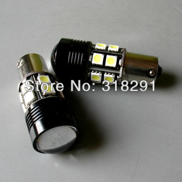 Super Bright CREE R5+12 LED 5050smd  Backup Light 1156 S25 (P21W) 360 lighting Car Lights No error signal report for some car