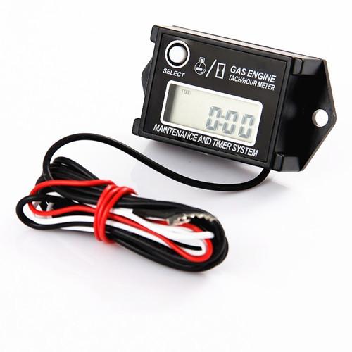 Universal Digital Motorcycle Tachometer Resettable Motor Bike Speedometer Waterproof Tach Hour Meter RPM for Motocross ATV Y1017(China (Mainland))