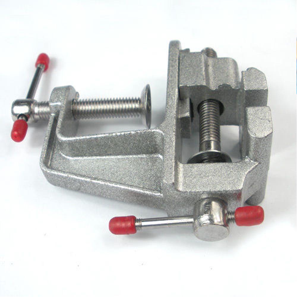 Aluminum miniature small jewelers hobby clamp table