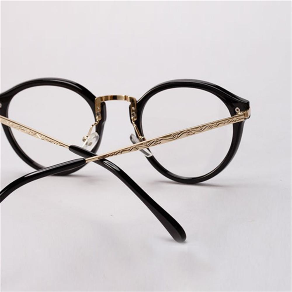 Glasses Frames Round : New Brand Fashion Unisex Glasses Women Men Round Frame ...