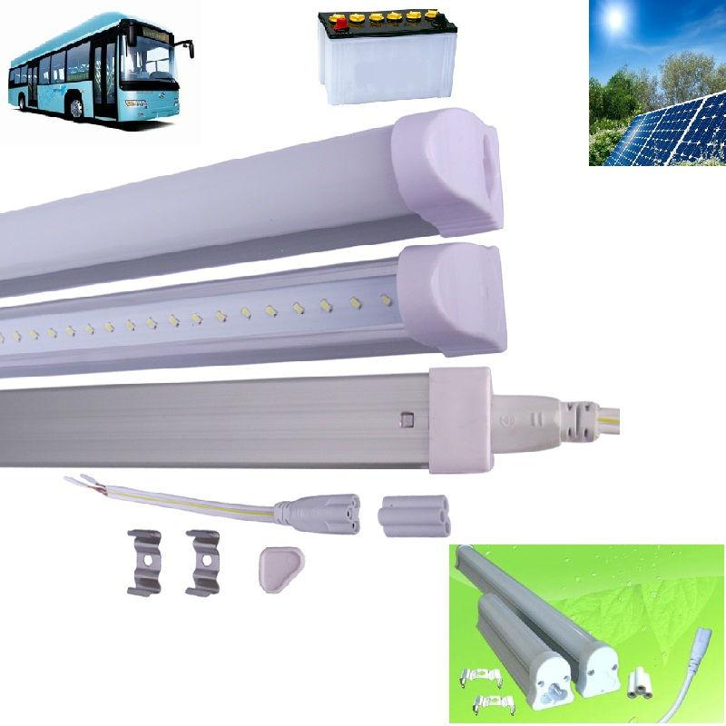 2014 Hot sale solar led tube light/10W 0.6m T5 Led tube high lumen/2ft 60cm 12V led tube Lighting /FREE SHIPPING for DHL(China (Mainland))