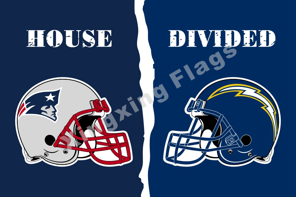 New England Patriots San Diego Chargers Helmets House