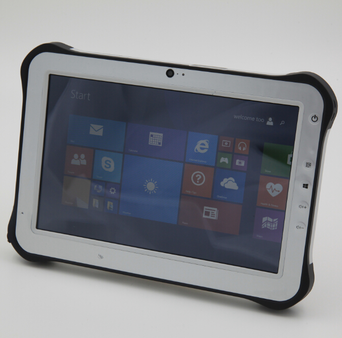 10.1 inch barcode fingerprint RFID rugged tablet pc, industry tablet pc, panel PC(China (Mainland))