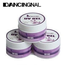 3pcs Pink White Clear Acrylic Nail Art Decoration Tips UV Gel Manicure Builder Tools Wholesale(China (Mainland))
