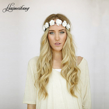 Bohemian Style Wreath Flower Crown