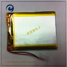 3.7 В литий-полимерная батарея 054050 504050 1100 мАч маленькие игрушки GPS навигации