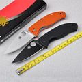 Hot selling C122 58HRC 8Cr13mov blade G10 handle 2 Colors folding knife outdoor camping survival tool