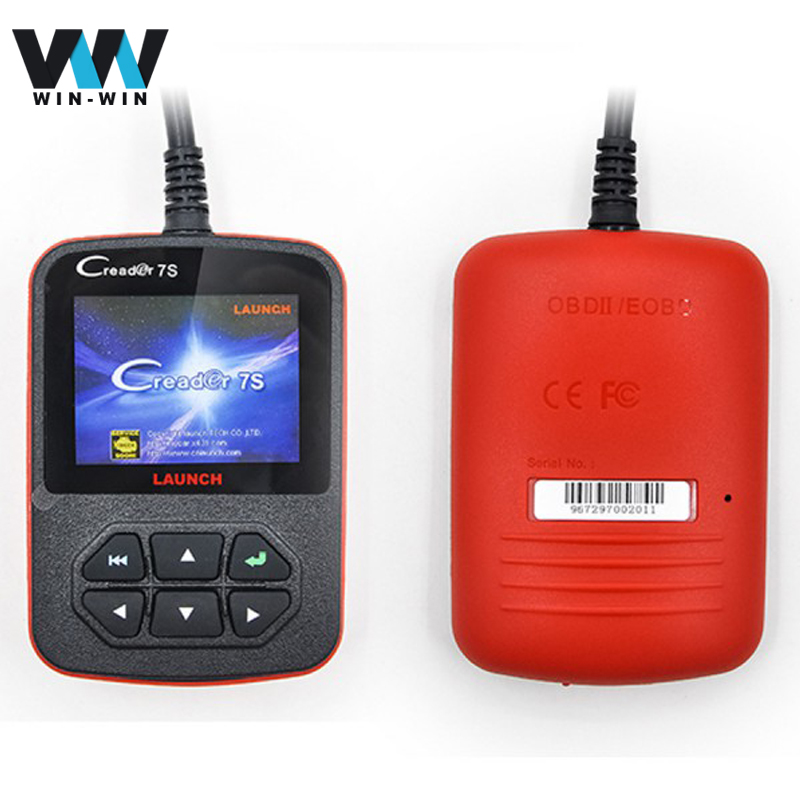 Launch Creader 7S Full System car diagnostic tool Launch X431 Diagun Oil Reset Function Creader vii plus Code Reader Scanner(China (Mainland))