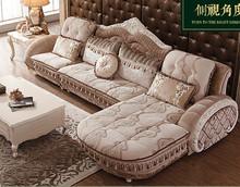 1+1+3 seat /lot fabric living room sofa set combination for big hotel or villa(China (Mainland))