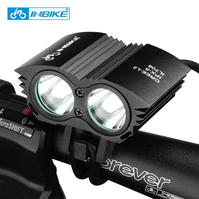 INBIKE Bicycle Handlebar LED Flashlight Waterproof 3 Colors