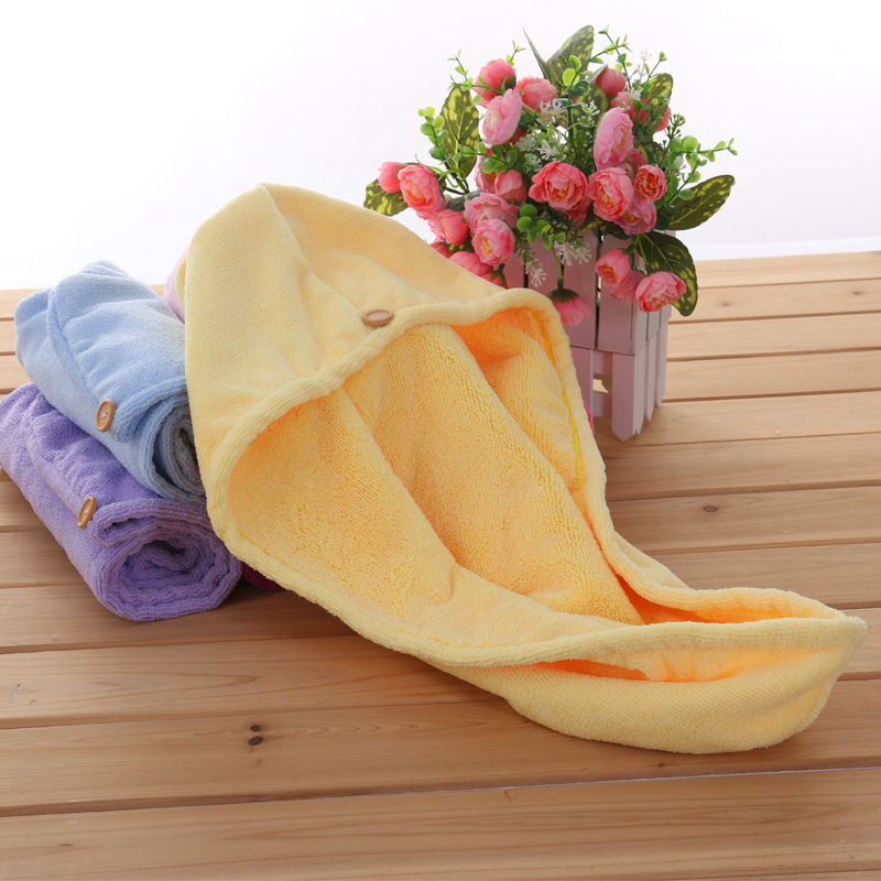 free shipping 120g Womens Girls Lady's Magic Quick Dry Bath Hair Drying Towel Head Wrap Hat Makeup cosmetics Cap Bathing Tool(China (Mainland))