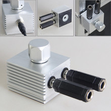 2015 newest style 1pcs aluminium alloy magnetism tattoo power supply for voltage transfer