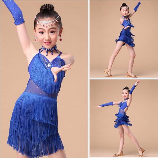 DB24026 latin dance dress-5