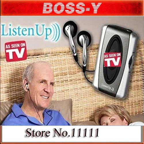 as seen on tv Listen Up Personal Sound Amplifier ,Households Hearing Aid,HEARING AID DEVICE ,Use Anywhere ,(China (Mainland))