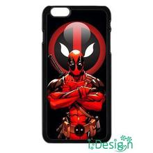 Fit for Samsung Galaxy mini S3/4/5/6/7 edge plus+ Note2/3/4/5 back skins cellphone case cover Superhero Deadpool