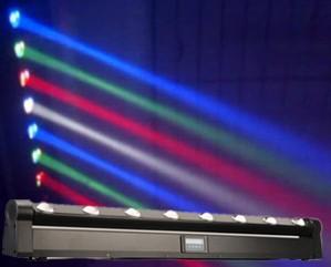 4pcs/lot LED Bar Beam Moving Head Light RGBW 8x12W Perfect for Mobile DJ, Party, nightclub(China (Mainland))