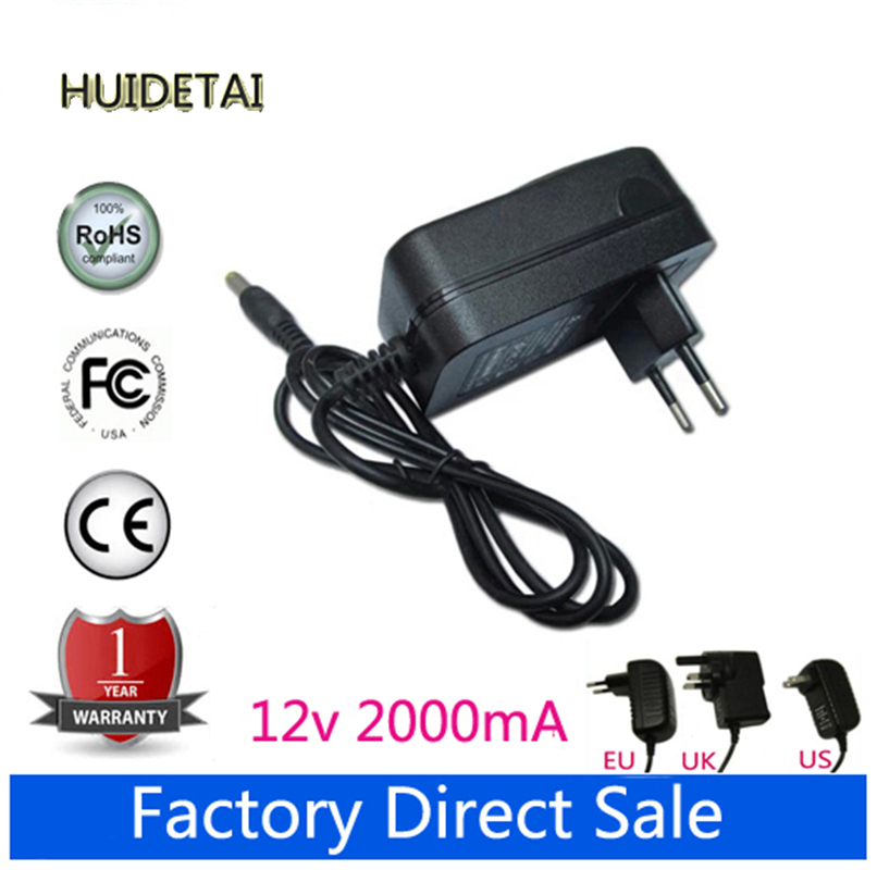 12V 2A AC DC Power Supply Adapter Wall Charger Replace For Yuandao Window N90 CHUWI V99 Tablet PC EU US AU UK Plug(China (Mainland))