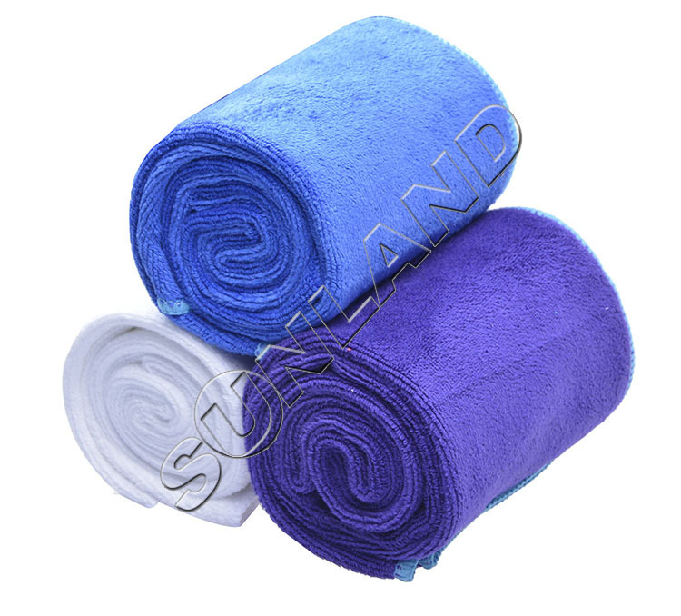 23cmx120cm Sunland Microfiber Fast Drying Travel SPA Sports Outdoors Towels Treadmill wipe around your neck With Carrying Bag(China (Mainland))