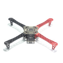 F450 Quadcopter Frame Integrated PCB 4-axis Arm Part  for DJI Flamewheel F450 F550 HJ450 Red/Black/White(China (Mainland))