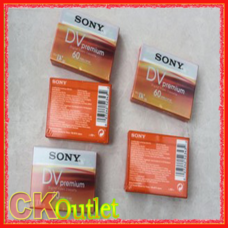 5 Pcs Premium Mini DV Tape High Quality Digital Video Cassette SP 60m LP 90m MADE IN JAPAN with Free Gift(China (Mainland))