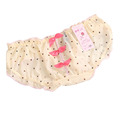 Candy Lace Pink Dot Open Crotch Butterfly Floral Culotte Sexy Panties Briefs Underwear Women Ropa Interior