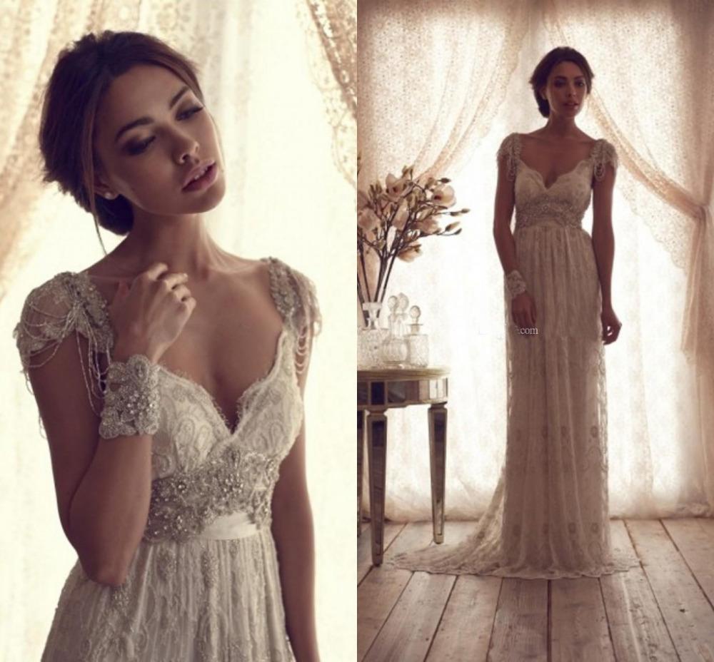 mermaid lace corset back sweep train wedding dress pwedsku sheer lace wedding dress Mermaid Lace Corset Back Sweep Train Wedding Dress