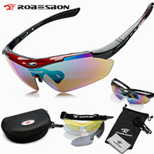 Buy ROBESBON Cycle Polarized Eyewear Glasses Bicycle Cycling Sunglasses Mountain Bike Ciclismo oculos de Sol Men Women 5 Lenses for $13.10 in AliExpress store