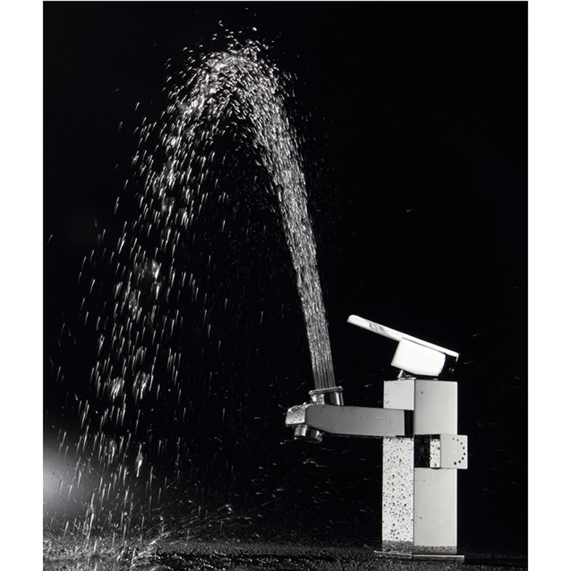 BAKALA luxury modern washbasin design Bathroom faucet mixer waterfall Hot and Cold Water taps for basin of bathroom LT-517(China (Mainland))