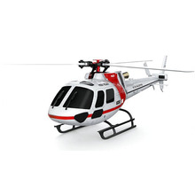 XK K123 6CH Brushless AS350 Scale 3D6G System Low Voltage Alarm Quote Aerodynamic Blade Suitable For Beginner RC Helicopter BNF(China (Mainland))