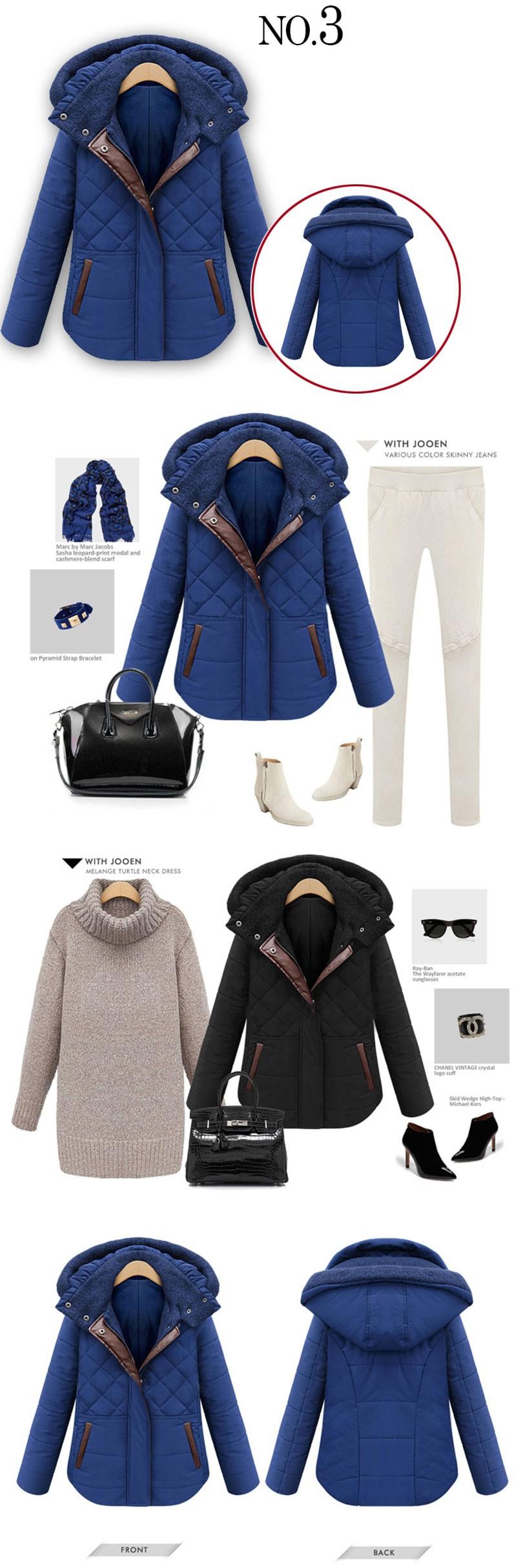 Скидки на Утолщение Плюс Хлопок Женщины Зима Пуховик С Капюшоном Плюс Размер в Долгосрочной Разделе 2016 Новая Мода Fit Зимы Женщин пальто