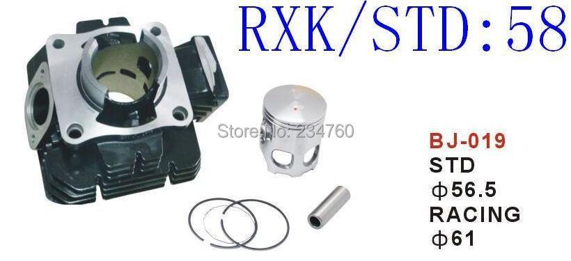 Motorcycle Aluminum Cylinder Block BODY YAMAHARXK 135 CYLINDER set PISTON STD Gas Racing order write size(China (Mainland))