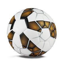 Новый высокое качество футбольный мяч машины стежка футбольные мячи гранулы PU круто-устойчивых размер 5 Trainning матч шары