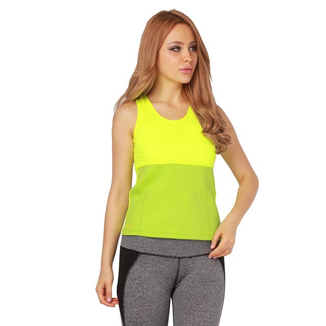 Леди фитнес быстрые сухие спортивные женская спортивная центр бег жилет рубашка , ...