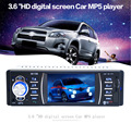 12V Bluetooth Car Radio Audio Stereo 3 6 Inch TFT Screen Rear View Camera Auto Radio