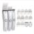 Riwa Аккумуляторная Профессиональные машинки для стрижки волос RE-760B белый триммер водонепроницаемый волос резак 2 часов зарядки IPX7 full-body wash