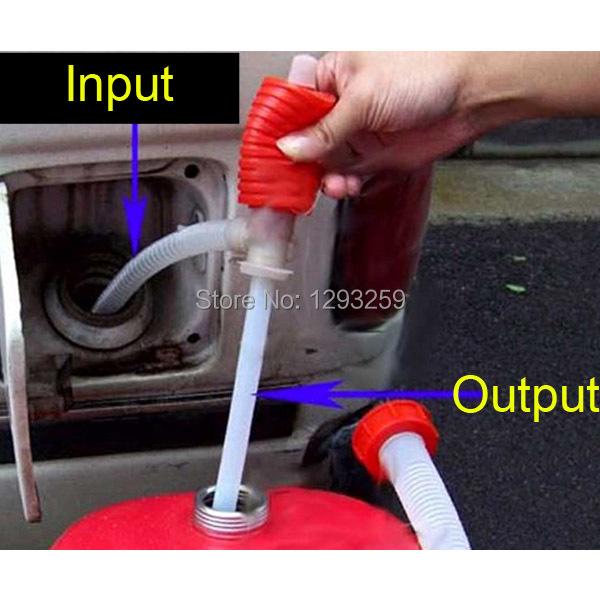Big Discount !!! Portable Manual Car Siphon Hose Gas Oil Water Liquid Transfer Hand Pump Sucker Free Shipping! 79DGf(China (Mainland))