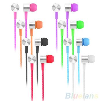 3.5 мм в ухо наушники микрофон стерео наушники гарнитура для наушников для мобильных телефонов MP3 2KWG