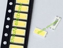 200pcs 70lm 1w 7030 Cool White smd leds(lights led) 6V 260mA 15000-30000K Super Bright Led Chips(China (Mainland))