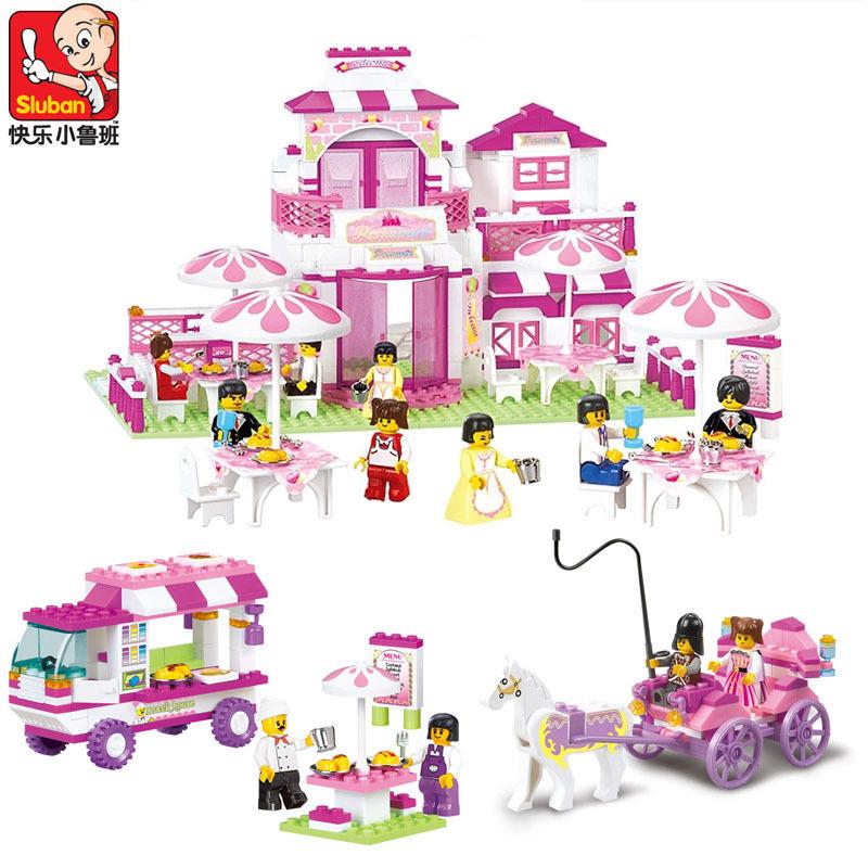 Toys For Kids 9 12 : No original box sluban princess palace educational toys
